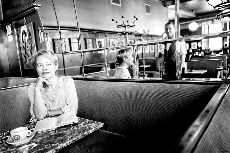 Blog Entropy, Barbara Rieger, Alain Barbero, Karin Ivancsics, Café Weidinger, Cafés Viennois, Kaffeehaus, Wien, Vienne, Melange der Poesie
