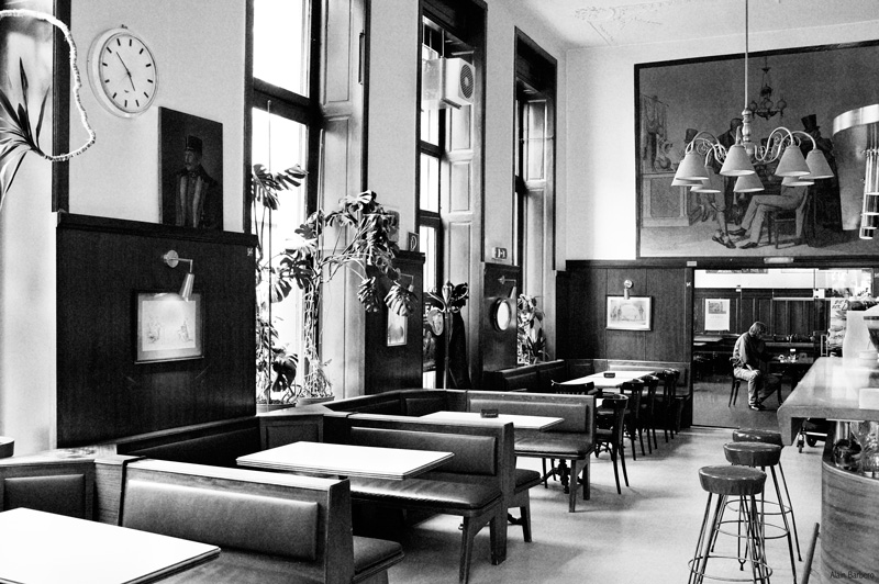 Blog, Wien, Vienne, Café Entropy, Kaffeehaus, Anzengruber, Cafés viennois, Barbara Rieger, Alain Barbero