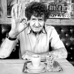Blog Entropy, Barbara Rieger, Alain Barbero, Robert Schindel, Café Prückel, Cafés Viennois, Kaffeehaus, Wien, Vienne, Melange der Poesie