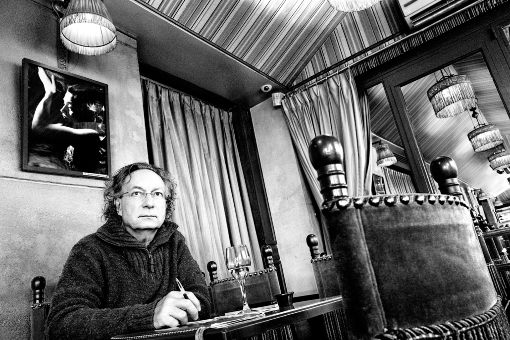 Blog Entropy, Barbara Rieger, Alain Barbero, Gérard Cartier, Café le Zimmer, Paris
