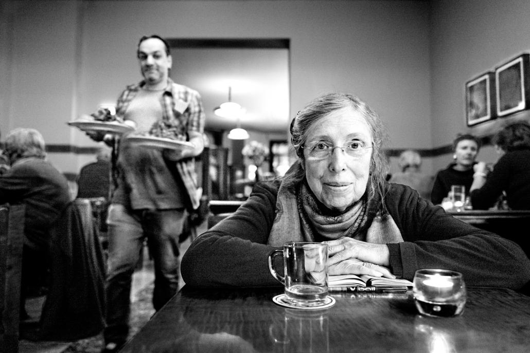 Blog Entropy, Barbara Rieger, Alain Barbero, Ditha Brickwell, Feuerbach Café, Café, Berlin