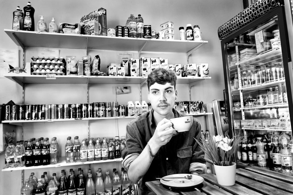 Blog Entropy, Barbara Rieger, Alain Barbero, Aron Boks, Spitzenback, Café, Berlin, Kreuzberg