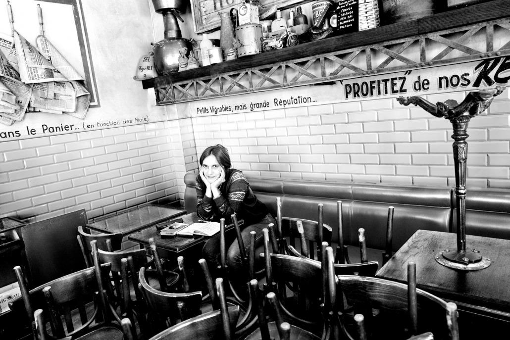 Blog Entropy, Barbara Rieger, Alain Barbero, Barbara Peveling, Café la Coopérative, Café, Paris
