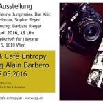 Aus Sprache, Café Entropy, Barbara Rieger, Alain Barbero, ÖGfL